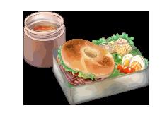 昼食・夕食サービス